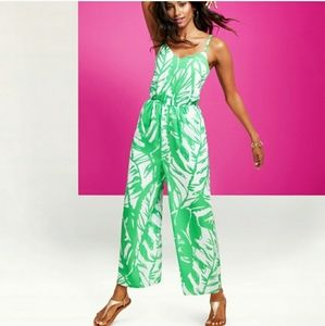 Lily Pulitzer for Target Palm print Jumpsuit